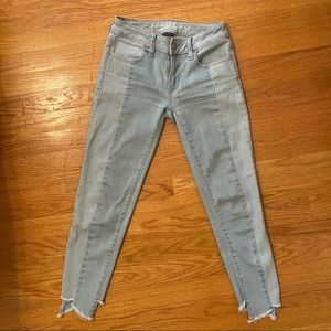 American Eagle Outfitters Two-Toned Jeans Size 0